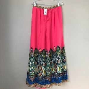 NWT Flying Tomato wide leg boho hobo pants